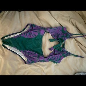 Urban outfitters cutout full piece bathing suit